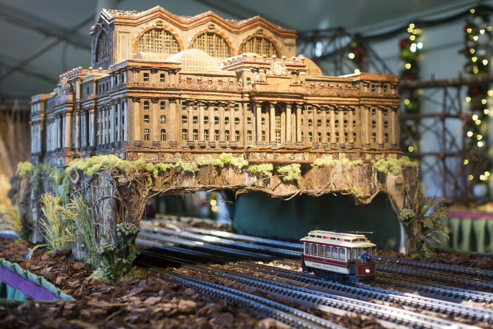 125th Anniversary Of The New York Botanical Garden Holiday Train Show Pursuitist
