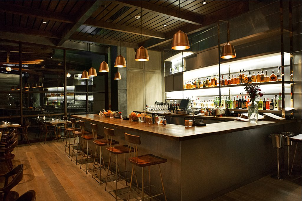LA - Hinoki _ the Bird - Contemporary American - Interior - Bar