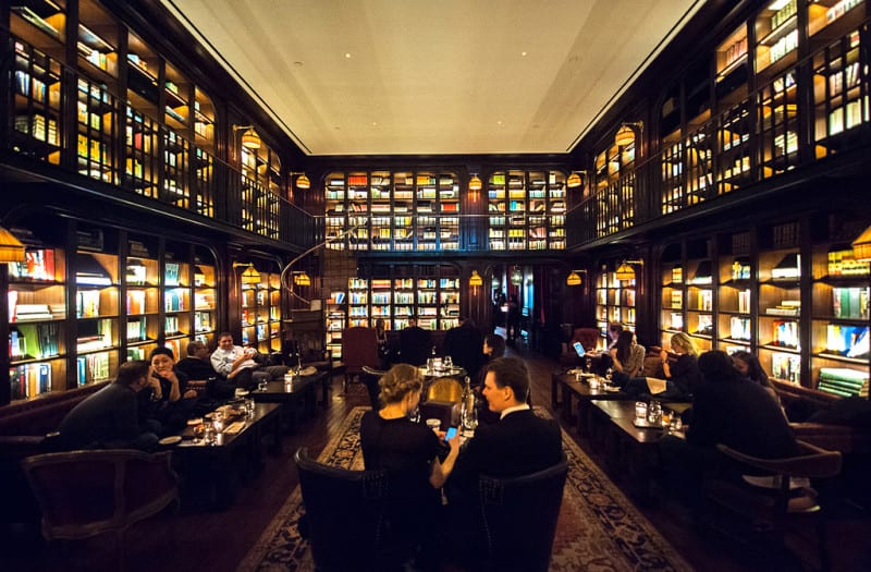 Nomad Hotel Library Bar