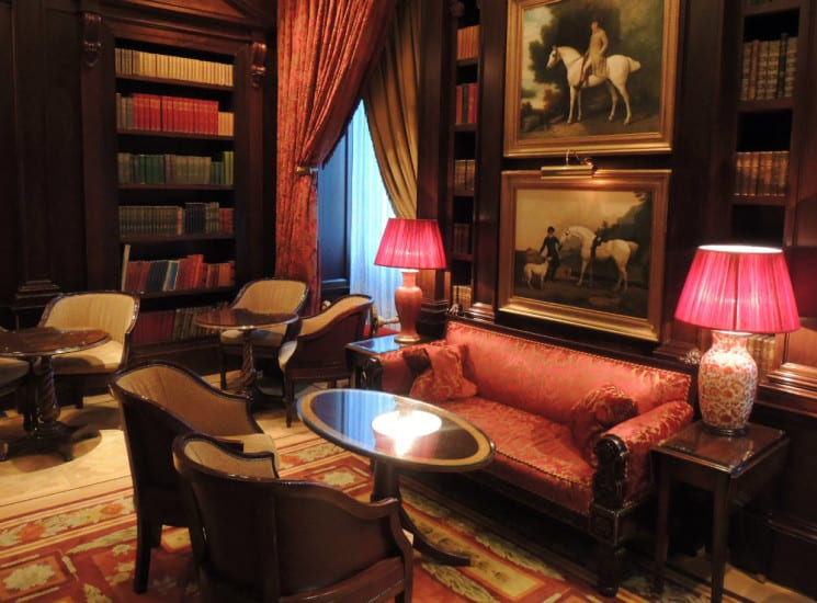 The Library (Lanesborough Hotel), London, UK