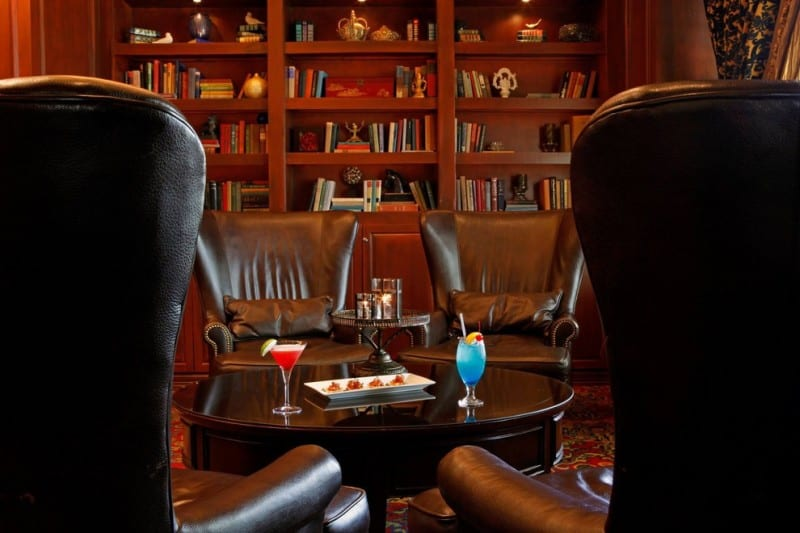 The Library Bar at Warwick Melrose Hotel, Dallas, TX